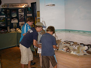 Children at the Ostego Bay Science Center